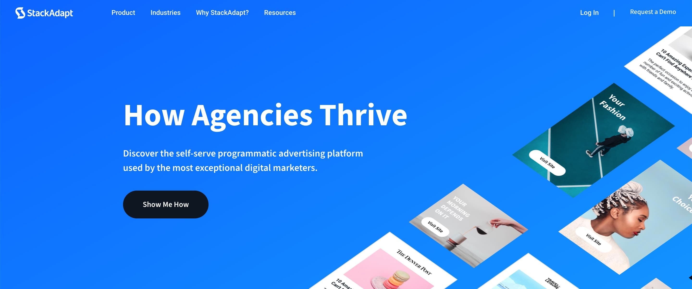 stackadapt advertising management tool example