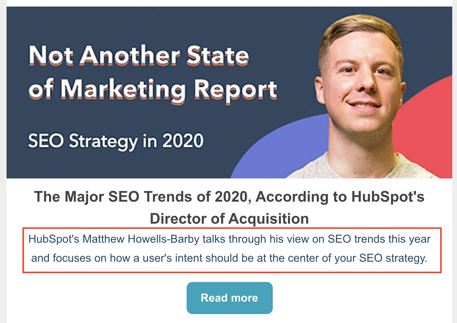 state of marketing report meta description