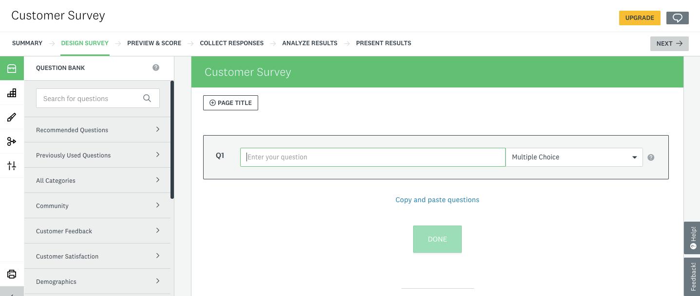 how to create a survey on surveymonkey step 3