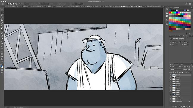 Storyboarding software by Wonder Unit