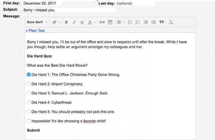 ooo mail template - 15 funny out of office messages to inspire your own
