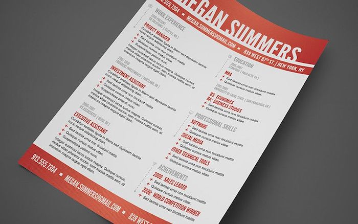 The  Best Resume Templates For Every Type Of Professional