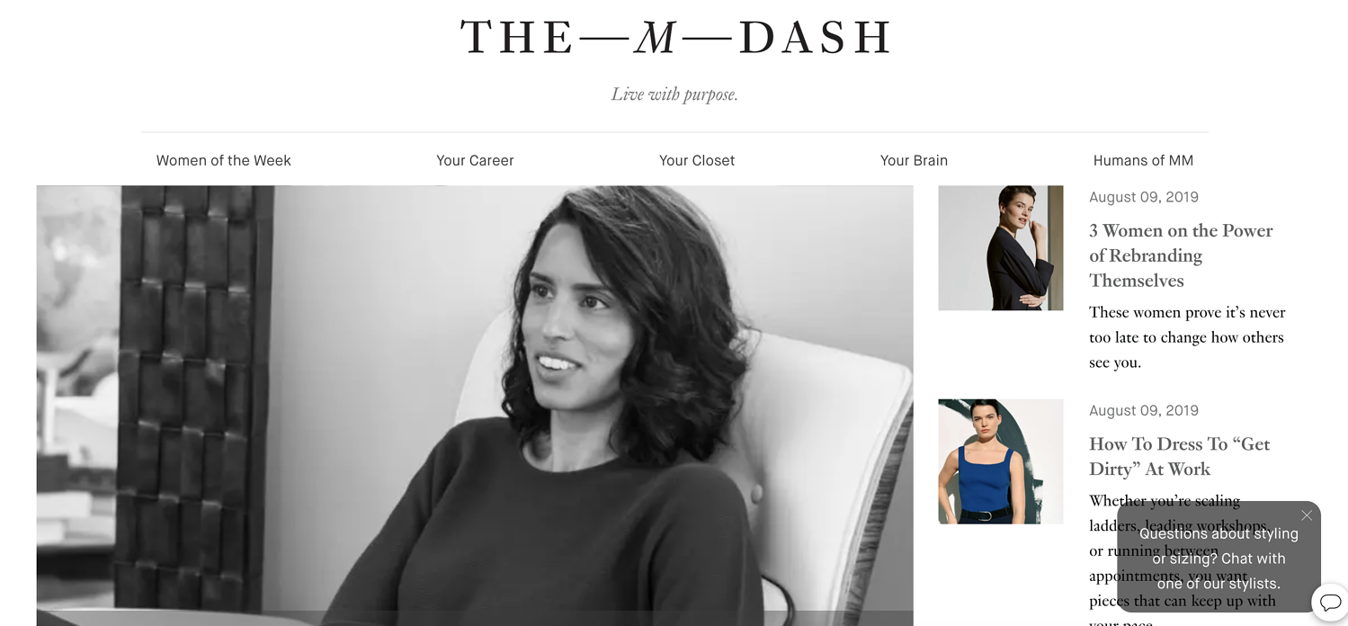 the-m-dash-blog