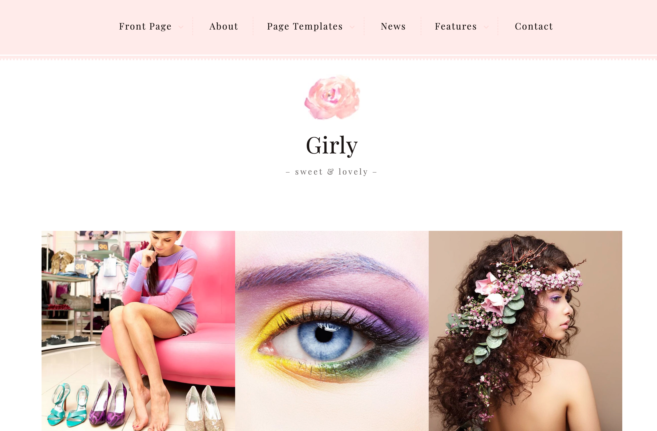 themeisle girly photography wordpress theme