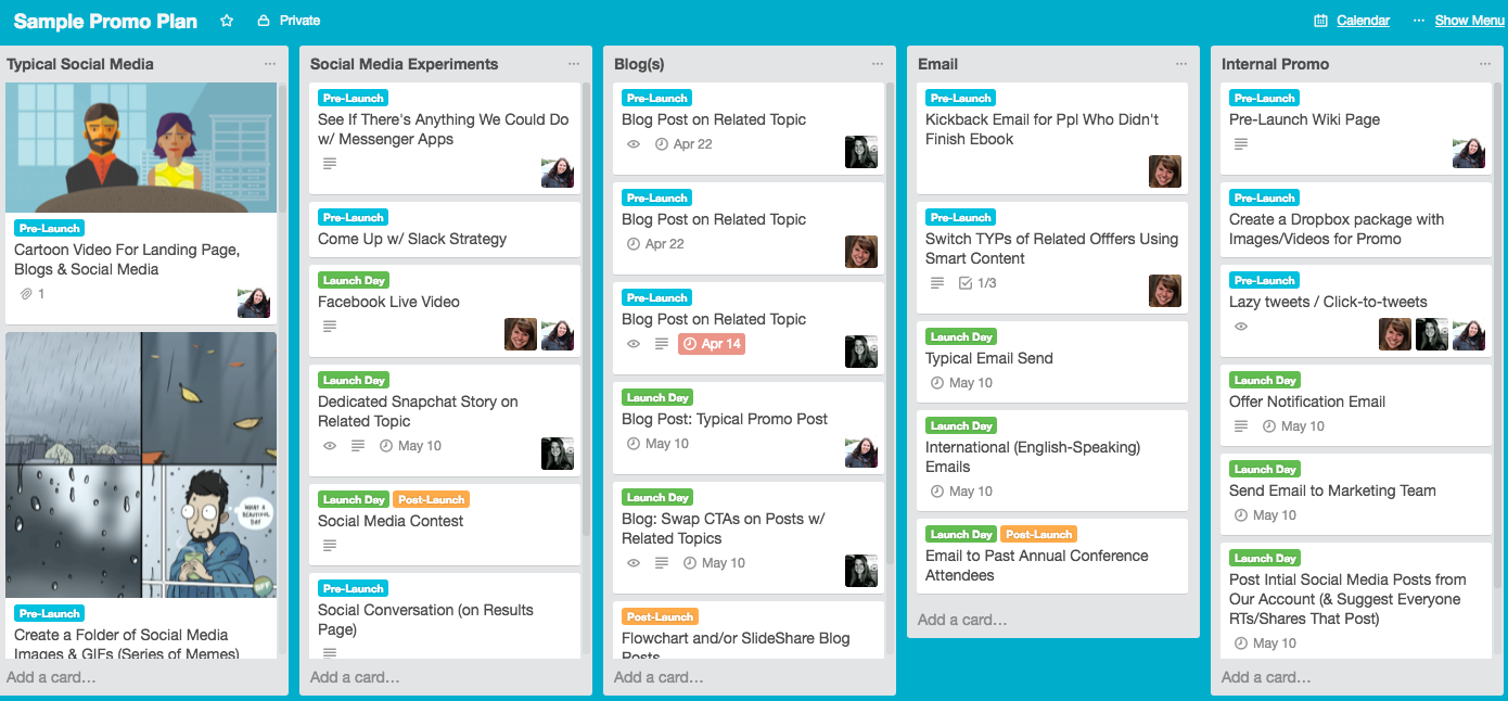 trello-sample-promo-board-for-launch.png