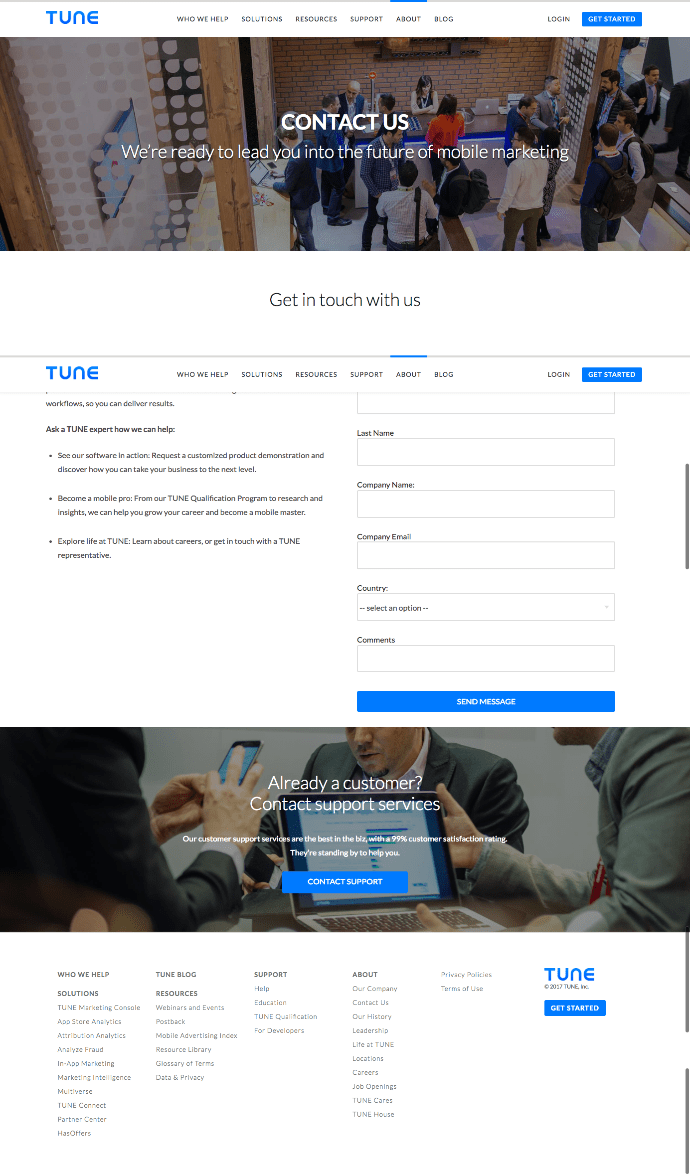 tune-contact-us-page