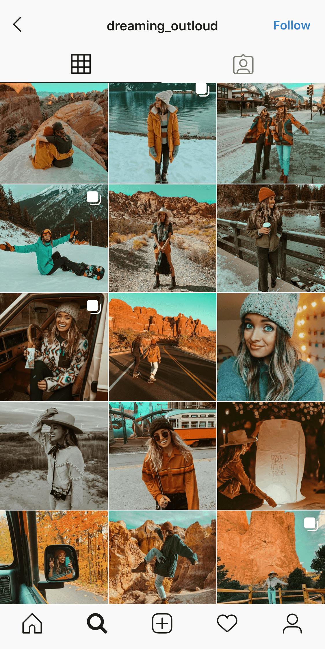 twocolor-theme-instagram