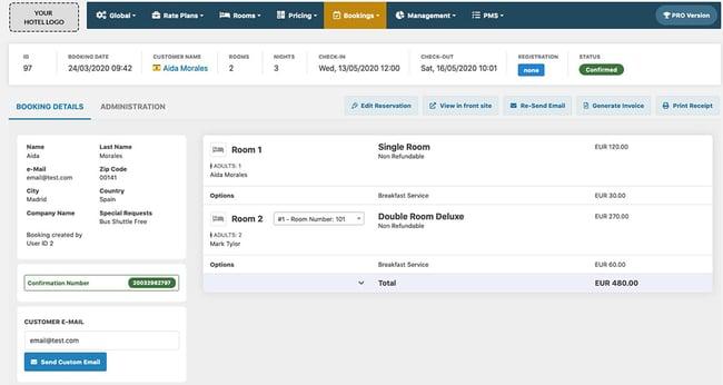WordPress hotel booking plugin by VikBooking