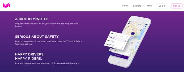virtual event on demand car rides lyft