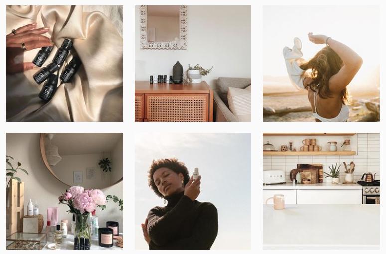 vitruvi-instagram-aesthetic example