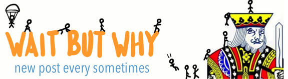 WaitButWhy website header