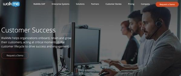 walkme customer service management tool