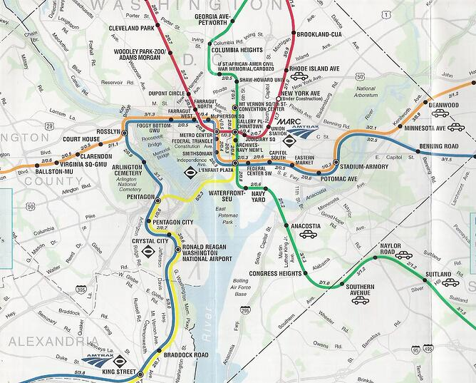 The Best Worst Subway Map Designs From Around The World