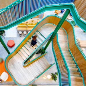 Creative WeWork office space