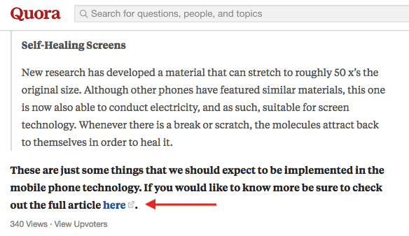Answer to Quora question with a link to author's website for more info