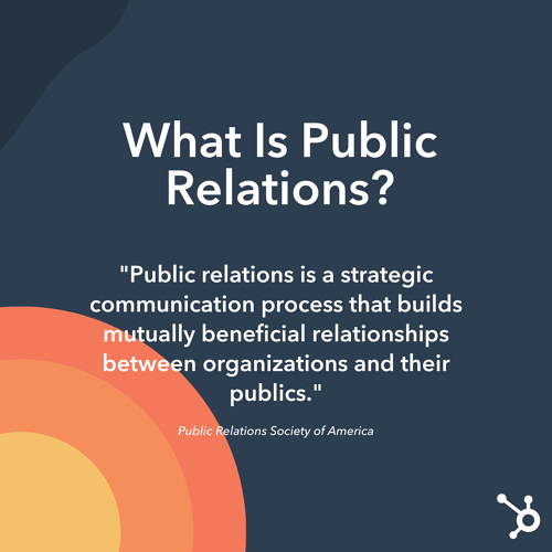 What Is Public Relations? Official Definition from PRSA
