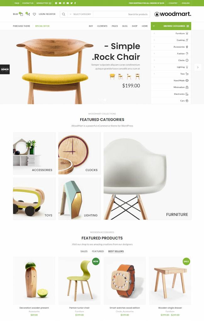 WoodMart right-to-left (RTL) WordPress theme-rtl-theme