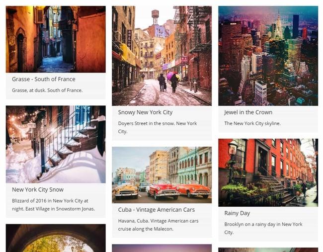 wordpress gallery plugin example: gmedia