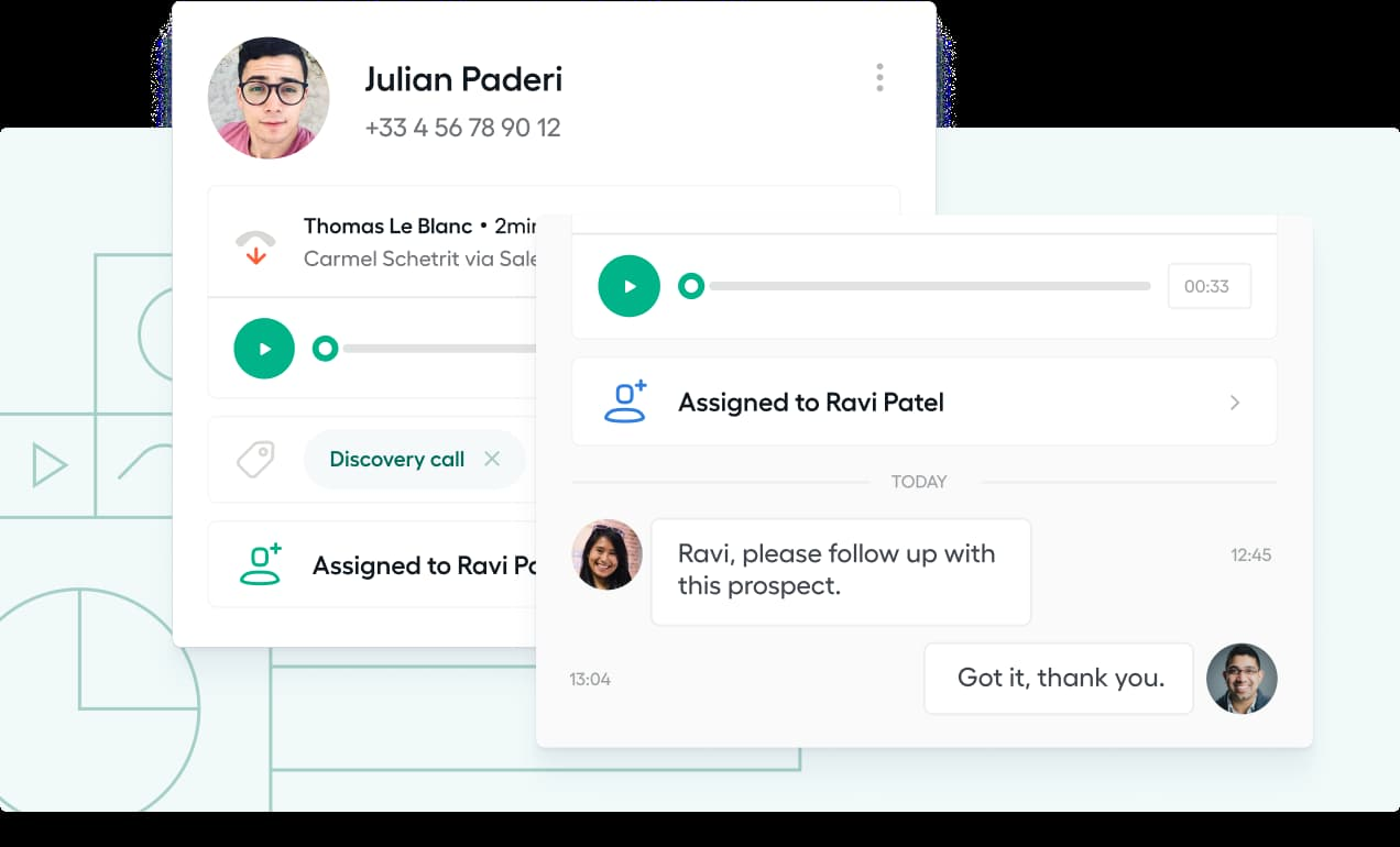 Call center software by Aircall