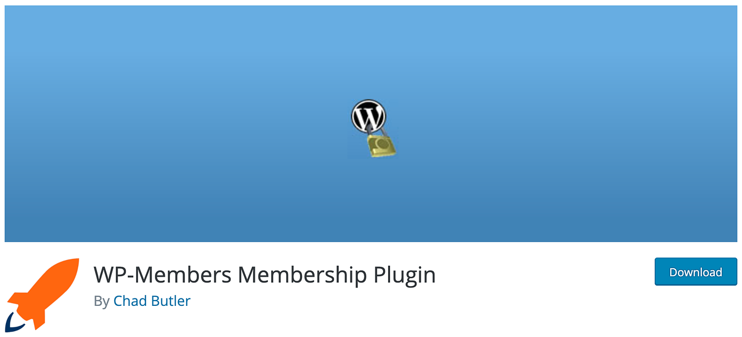 download page for the wordpress membership plugin WP-Members
