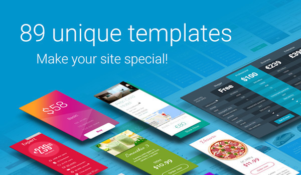 banner advertising wp pricing table builder templates in wordpress