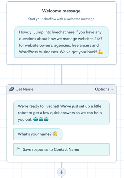 HubSpot Chatflow