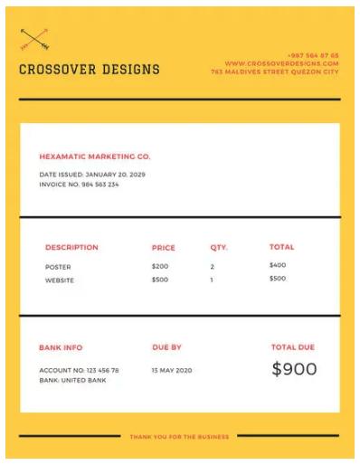 yellow-minimalist-invoice