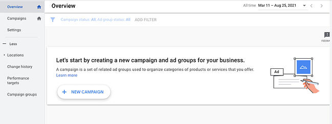 How to advertise on YouTube: Start campaign