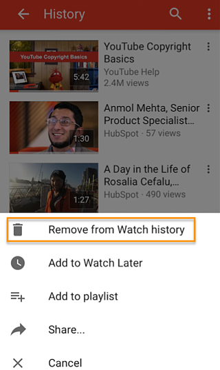 how to delete your youtube channel on mobile
