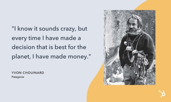 yvon chouinard quote that reads