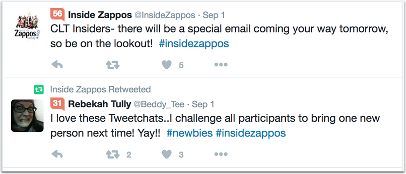 zappos-1.png  How to Attract Talent With a Company Hashtag: 10 Inspiring Examples zappos 1
