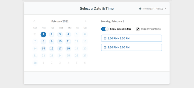Group scheduling tool by Zoom.ai