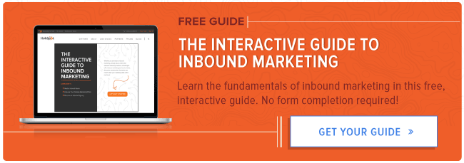 free interactive inbound marketing guide