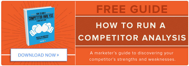 download how to run a competitor analysis
