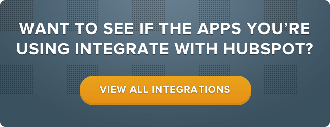 See All HubSpot Integrations