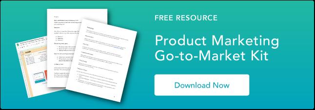 Product Marketing Kit