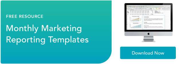 free marketing reporting templates