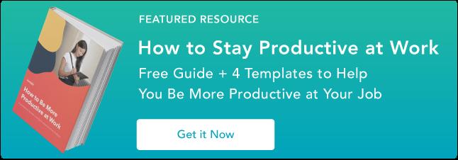 consigli di produttività gratuiti