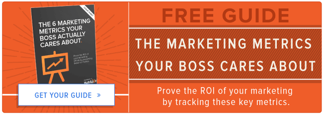 free guide to marketing metrics your boss cares about