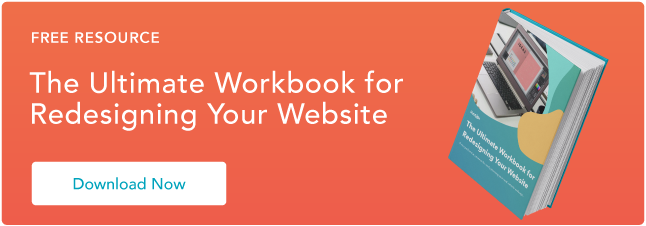 Blog - Website Redesign Workbook Guide [List-Based]