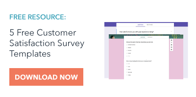Want 5 free customer satisfaction survey templates you can implement  immediately? Click here.