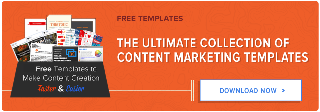 free content marketing templates