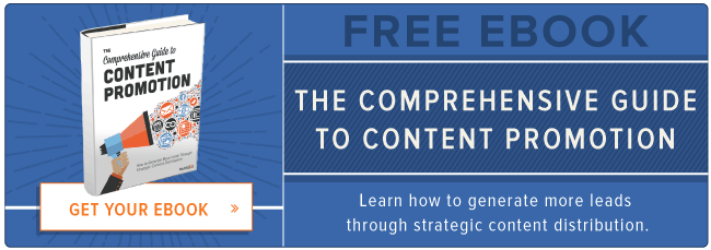 download free guide to content promotion
