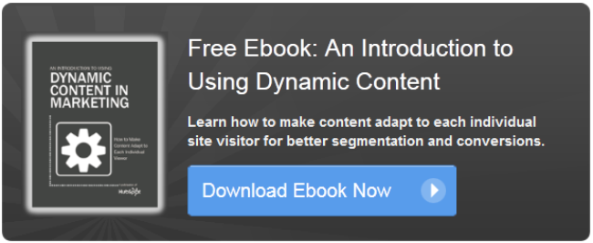 introduction to dynamic content ebook