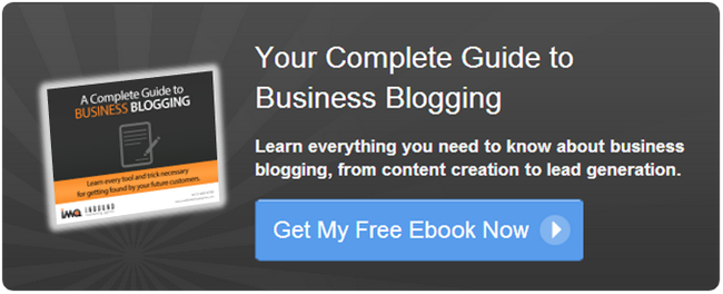 free business blogging ebook