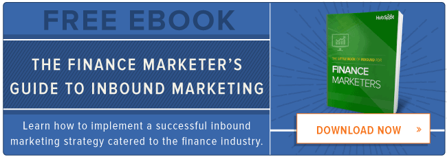 free guide to inbound marketing for finance marketers