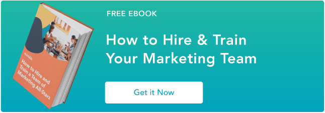 learn how to build an inbound marketing team