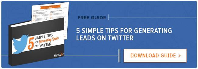 twitter lead generation tips guide