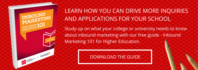 Download the Guide - Inbound Marketing 101 for Higher Education