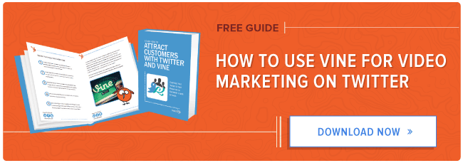 free guide to using vine for video marketing on Twitter